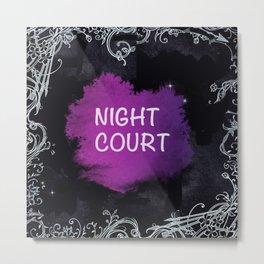 Night Court Metal Print