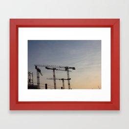 Hamburg II Framed Art Print