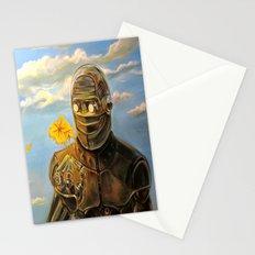 Robot & Flower Stationery Cards