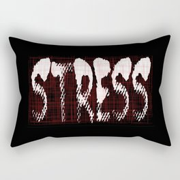Stress Rectangular Pillow