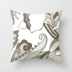 Minted Color Blocking Throw Pillow