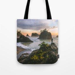 Secret Beach Along The Oregon Coast Tote Bag