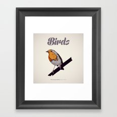 BIRDS 02 Framed Art Print