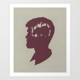 (Lumber) Jack Art Print
