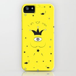 DALI IS NOT CRAZY iPhone Case