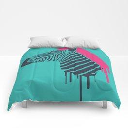 Zebra's Not Dead II Comforters