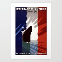 French Voyage Art Print