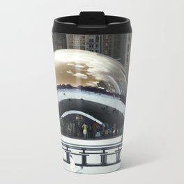 bean to cloud-gate recently? Travel Mug