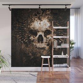 Skull Face Scary Wall Mural
