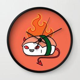 Spicy Devil Tuna Wall Clock