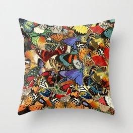 Butterflies Nature Throw Pillow