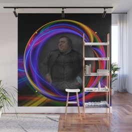 'Do Androids Dream of Electric Sheep?' Contemporary Avant-Garde Portrait Wall Mural