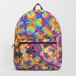 Rainbow Butterfly Geometrica Backpack