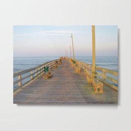 Rodanthe Pier Metal Print