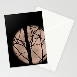 Blurry Moon Stationery Cards