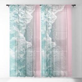 Ocean Beauty #1 #wall #decor #art #society6 Sheer Curtain