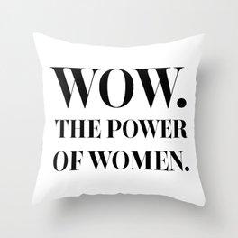 The Power of Women - Nicole Kidman Throw Pillow