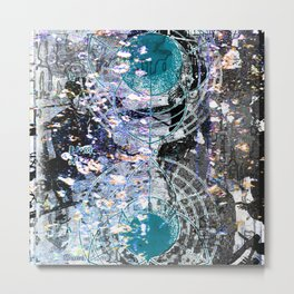 Polarity Metal Print