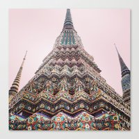 thailand Canvas Prints featuring Thailand by Maria
