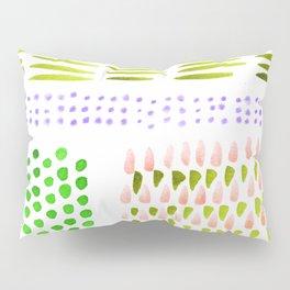 June Brushstrokes Pillow Sham