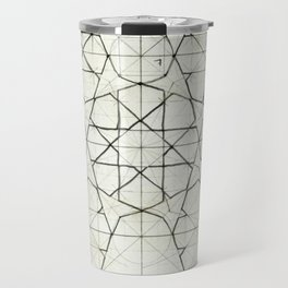 Geometry Sketch Nine Travel Mug