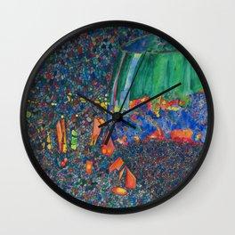 Wine Glass Wall Clock