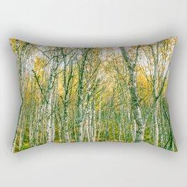 Silver Birches Rectangular Pillow