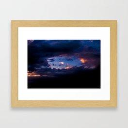Hole In The Sky Framed Art Print