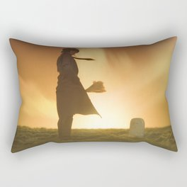 nameless tomb Rectangular Pillow