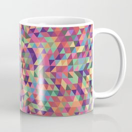 Colorful Triangle Mandala Coffee Mug