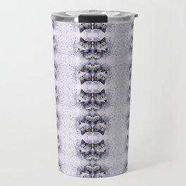 Lilac Wolf Travel Mug