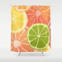 Citrus II Shower Curtain