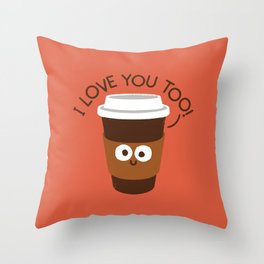 Unfiltered Throw Pillow