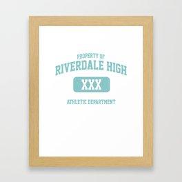 Riverdale Merch ® Riverdale High Archie KJ Apa Framed Art Print