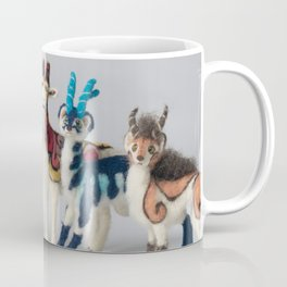 Fantastic Felted Beasts Coffee Mug