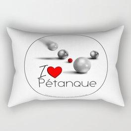 I love Pétanque Rectangular Pillow