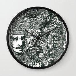 Hello Dali Wall Clock