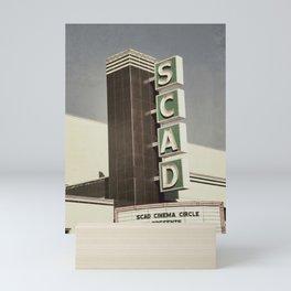 SCAD Theater Mini Art Print