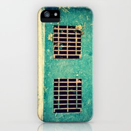 Blue Suede Morning iPhone Case
