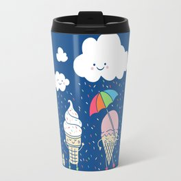 Cloudy With A Chance of Sprinkles Travel Mug