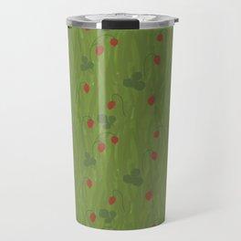 Wild Strawberry Fields Travel Mug