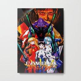 Neon Genesis Evangelion Metal Print