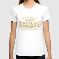 bioshock infinite T-shirts featuring BioShock Rapture by KerzoArt
