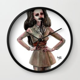 DARLING, I FALL TO PIECES WHEN I'M WITH YOU Wall Clock