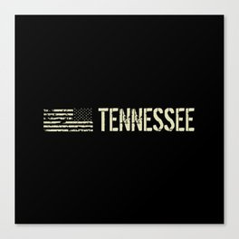 Black Flag: Tennessee Canvas Print