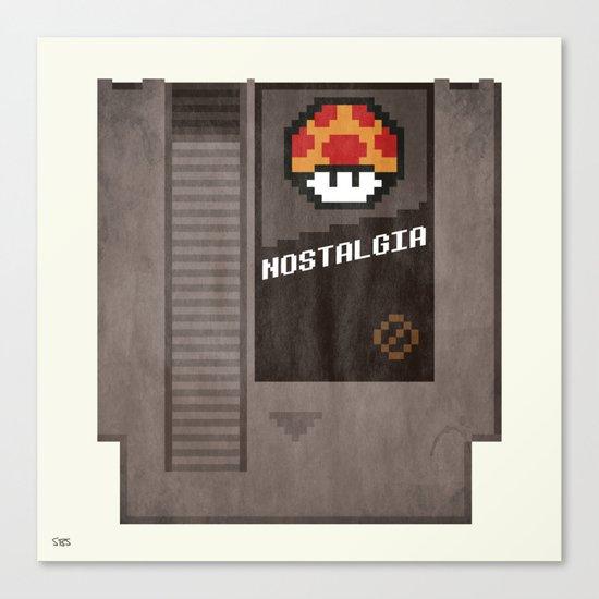 Nostalgia in a Nintendo Cartridge Canvas Print