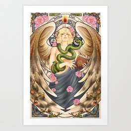 Good Omens - Garden of Eden Art Print