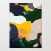 sarah paulson Canvas Prints featuring Sarah by Patricia Vargas
