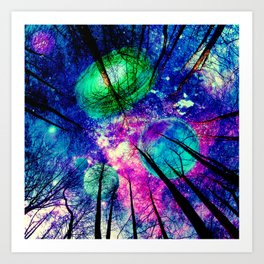 My sky Art Print