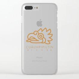 Cuāuhpipiltin Clear iPhone Case